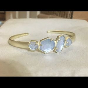 SOLD NWOT Kendra Scott Ruby pinch bracelet